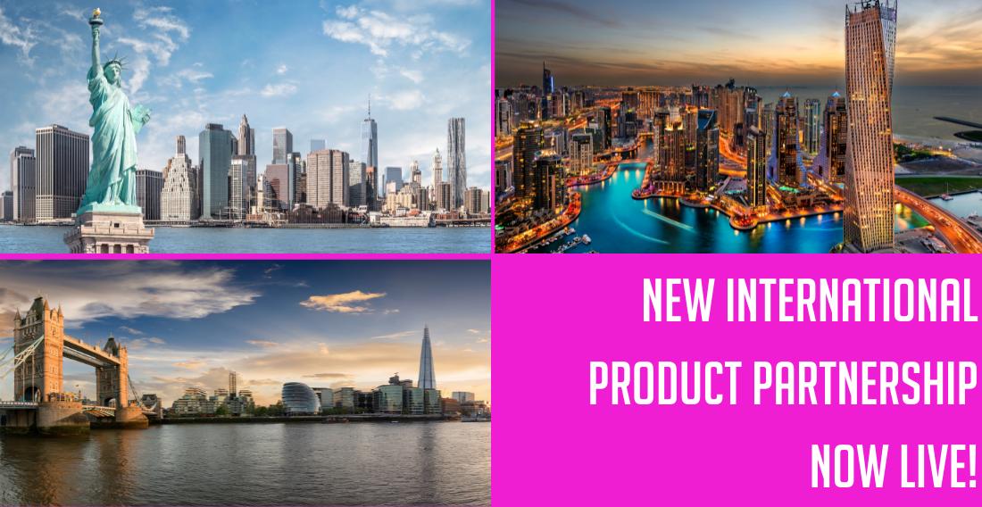 Dubai, London, New York – Here we come!
